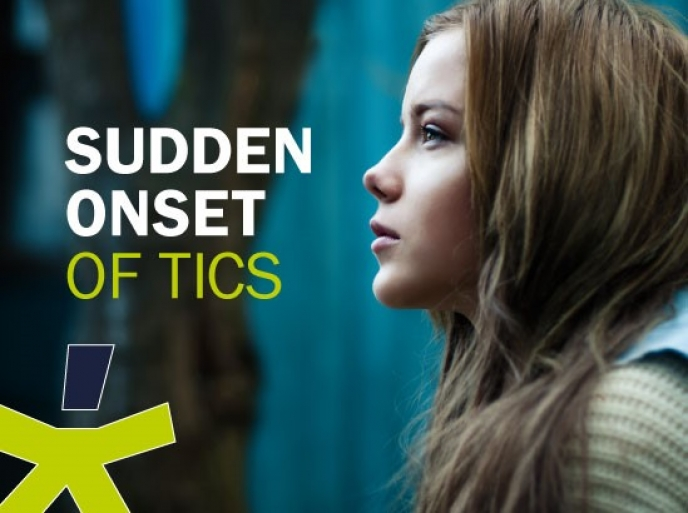 Sudden Onset of Tics