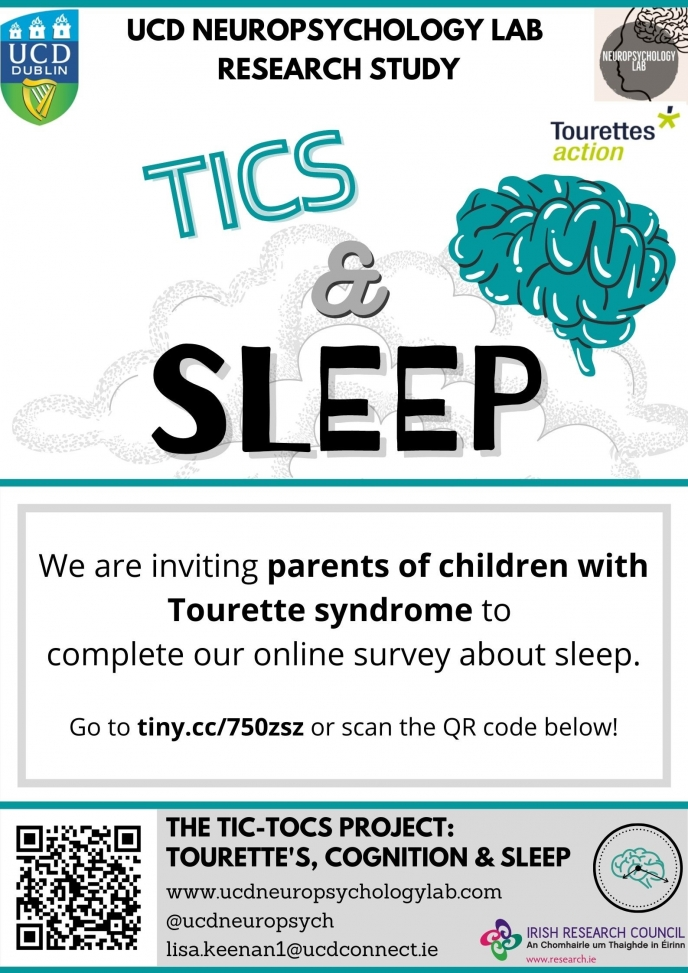 The TIC-ToCS Project: Tourettes, Cognition, and Sleep