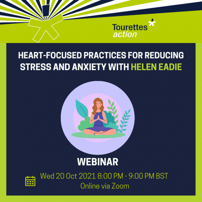 Webinar - Heart-focused practices for reducing stress and anxiety