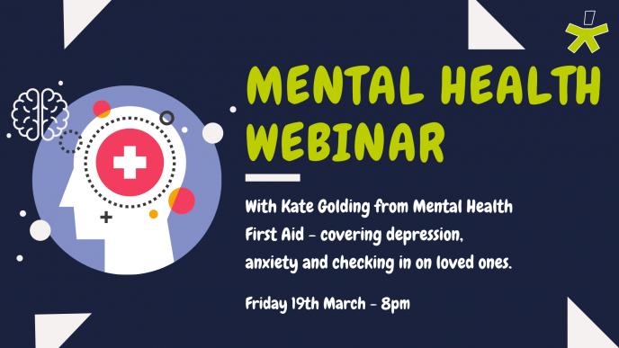 Webinar - TS and Mental Health Wellbeing