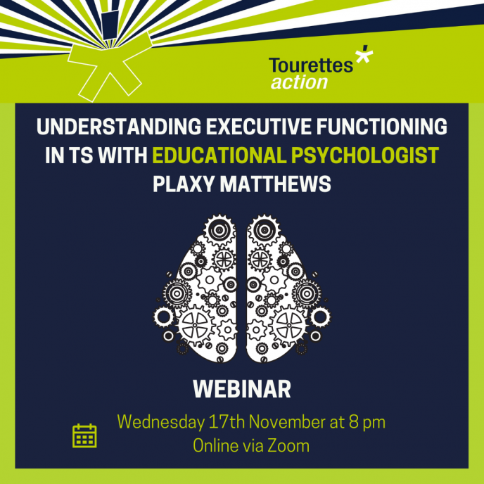 Webinar - Understanding Executive Functioning with TS