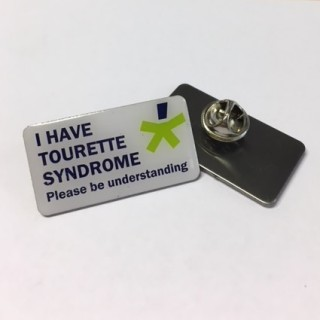 'I have TS' Awareness badge